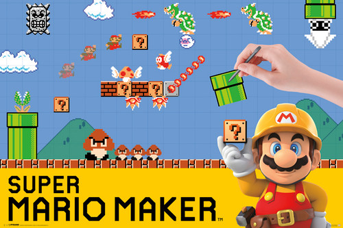 Image for Mario Maker Poster
