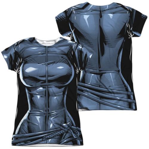 Image for Batman Girls T-Shirt - Sublimated Catwoman Uniform