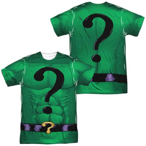 Image for Batman Sublimated T-Shirt - Riddler Uniform 100% Polyester