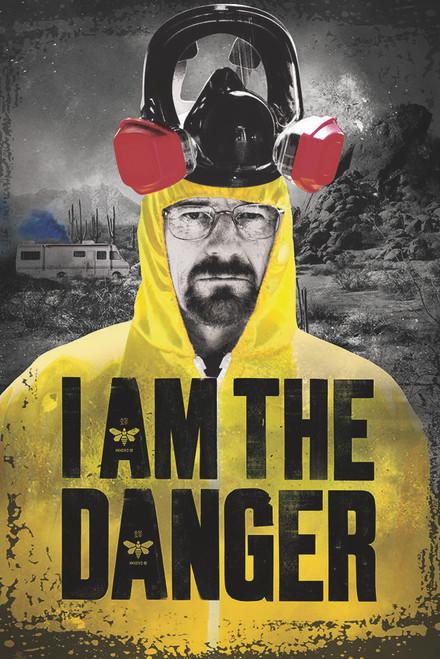 Image for Breaking Bad Poster - I Am The Danger