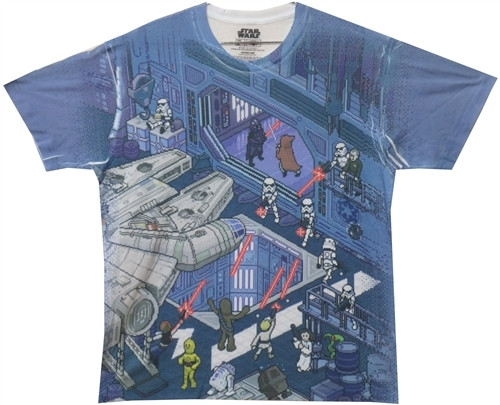 Image for Star Wars T-Shirt - Hanger Fade