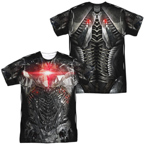 Image for Cyborg Sublimated T-Shirt - JLA Movie Uniform 100% Polyester