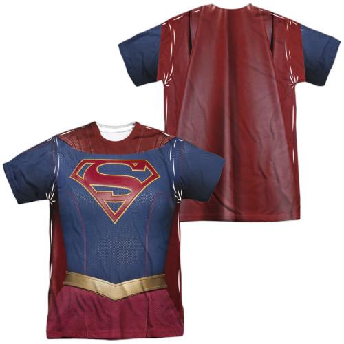 Image for Supergirl Sublimated T-Shirt - Uniform 100% Polyester