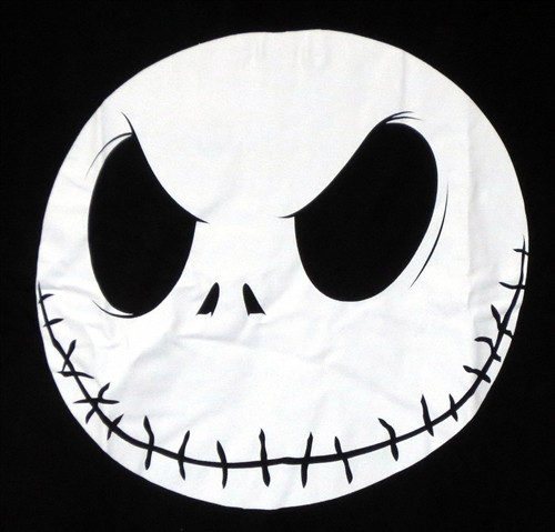 Image for The Nightmare Before Christmas Jack Head T-Shirt
