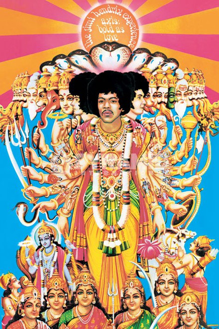 Image for Jimi Hendrix Poster - Axis: Bold As Love