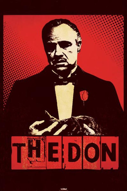 Image for The Godfather Poster - The Don