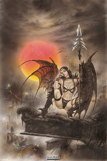 Image for Luis Royo Poster - Black Tinkerbell