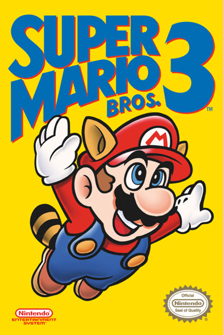 Image for Super Mario Bros. 3 Poster - Cover
