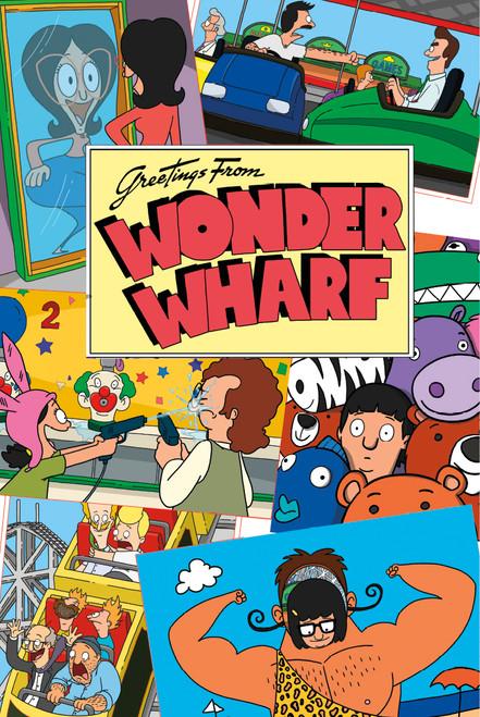 Image for Bob's Burgers Poster - Wonder Wharf