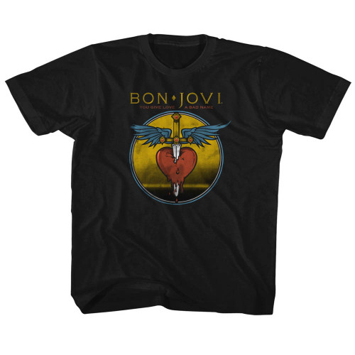 Image for Bon Jovi You Give Love a Bad Names Toddler T-Shirt
