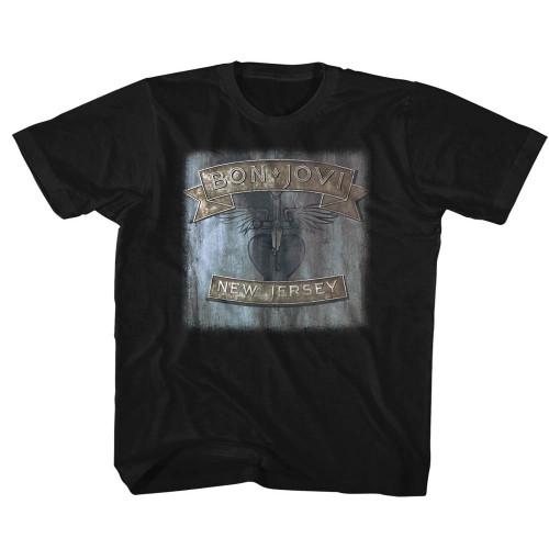 Image for Bon Jovi New Jersey Toddler T-Shirt