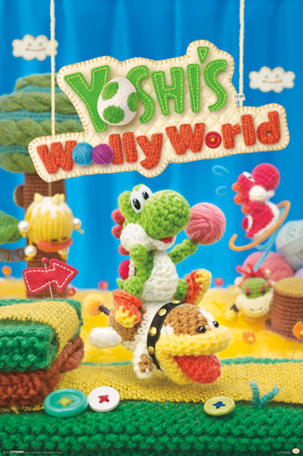 Image for Yoshi's Wooly World Poster