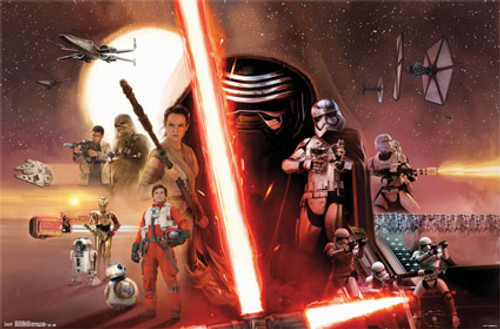 Image for Star Wars: The Force Awakens Poster - One Sheet