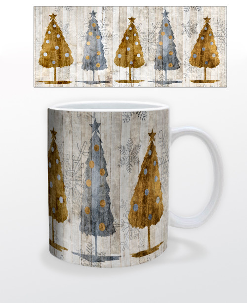 Image for Lodge Trees Coffee Mug