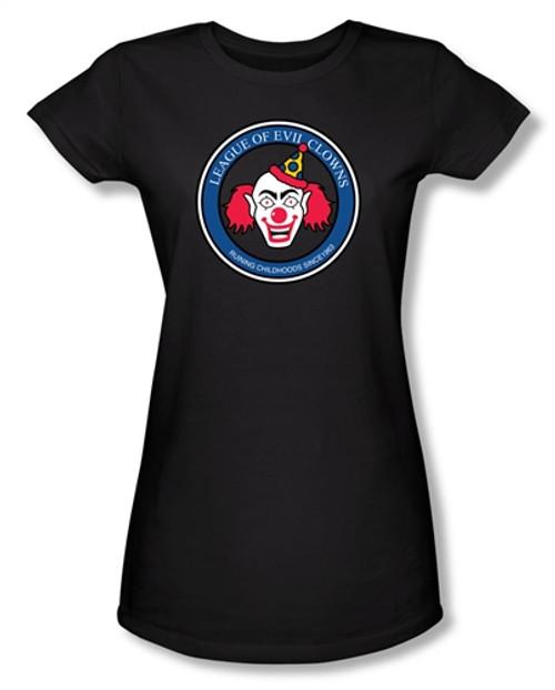 League of Evil Clowns Girls Shirt