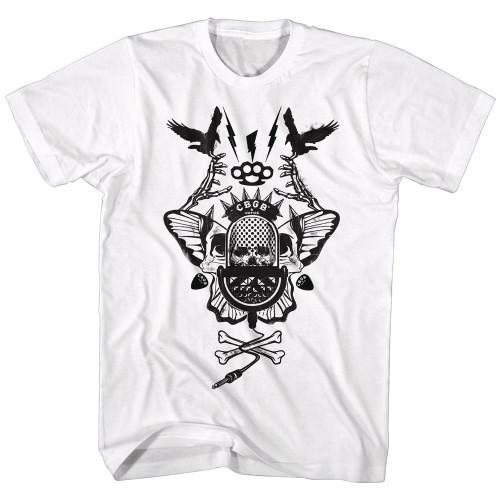Image for CBGB T-Shirt - Crossbones