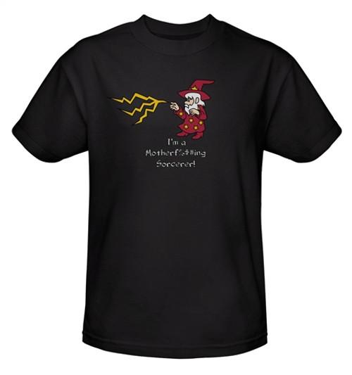 Image Closeup for I'm a Motherf%$#ing Sorcerer! T-Shirt