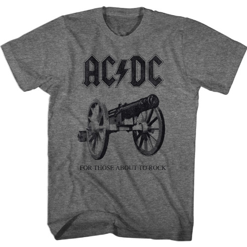 Image for AC/DC T-Shirt - Classic About to Rock Again