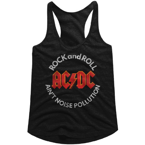 Image for AC/DC Noise Pollution Classic Juniors Racerback Tank Top