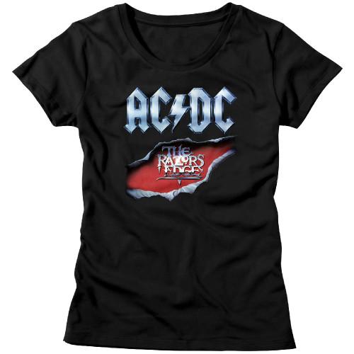 Image for AC/DC Girls T-Shirt - Classic Razors Edge