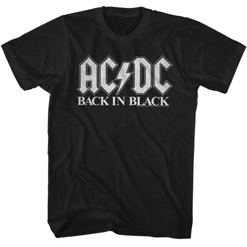 Image for AC/DC T-Shirt - Back in Black Classic 2