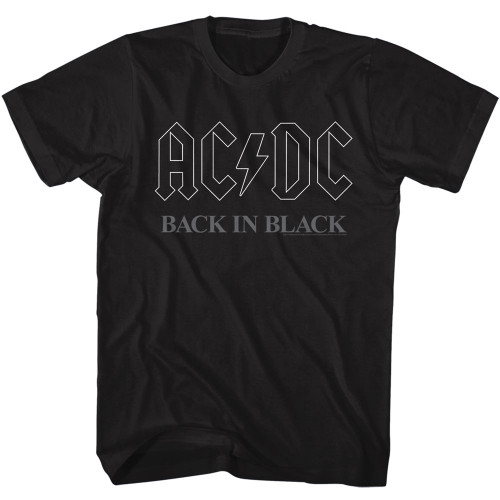Image for AC/DC T-Shirt - Classic Back in Black 3