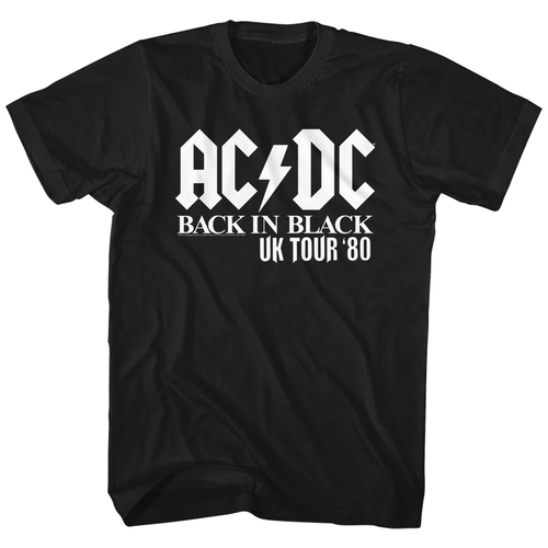 Image for AC/DC T-Shirt - US Tour Solid White