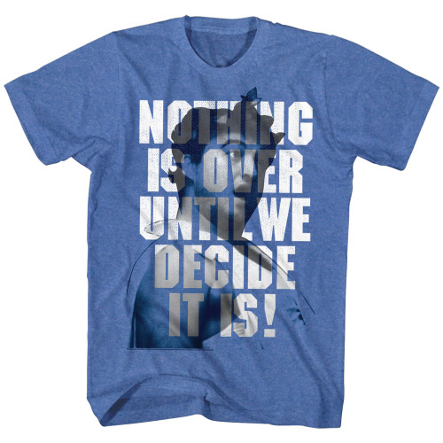 Image for Animal House T-Shirt - Nothing is Over Until We Decide It Is