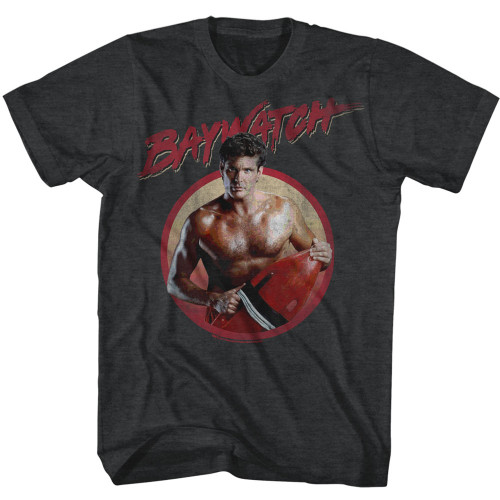 Image for Baywatch T-Shirt - Serious Dave