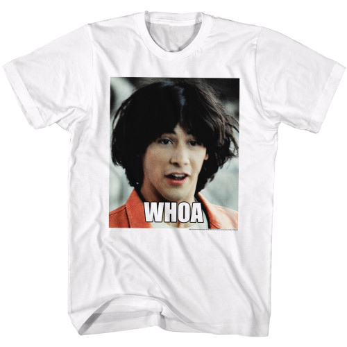 Image for Bill & Ted's Excellent Adventure T-Shirt - Whoa