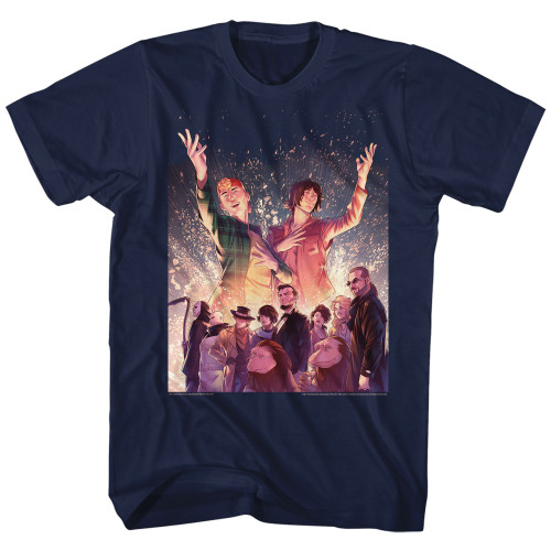 Image for Bill & Ted's Excellent Adventure T-Shirt - Sparkle