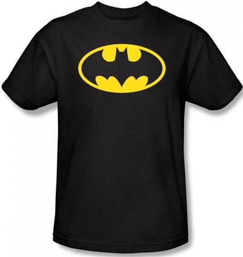 Image for Batman T-Shirt - Classic Yellow Logo