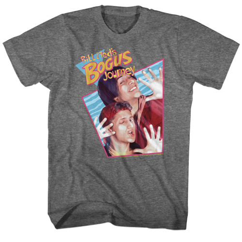 Image for Bill & Ted's Excellent Adventure T-Shirt - Bogus Rhombus with Texture