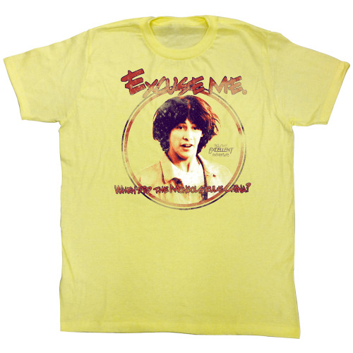 Image for Bill & Ted's Excellent Adventure T-Shirt - When Did the Mongols Rule China