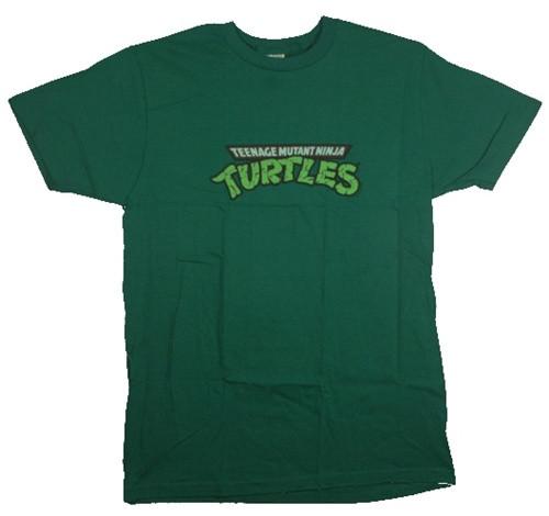 Image Closeup for Teenage Mutant Ninja Turtles Logo T-Shirt