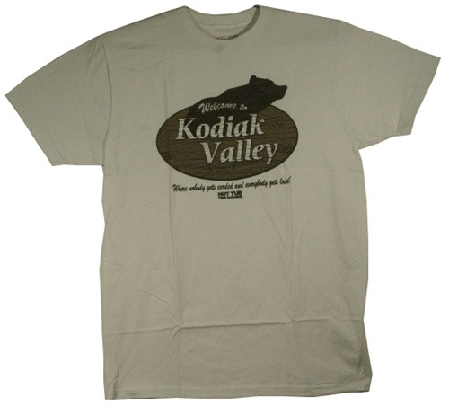 Image Closeup for Hot Tub Time Machine Kodiak Valley T-Shirt