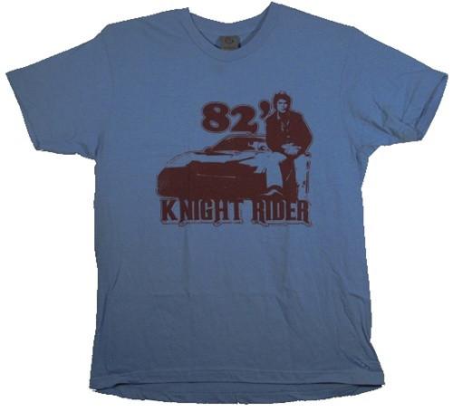 Image Closeup for Knight Rider '82 T-Shirt