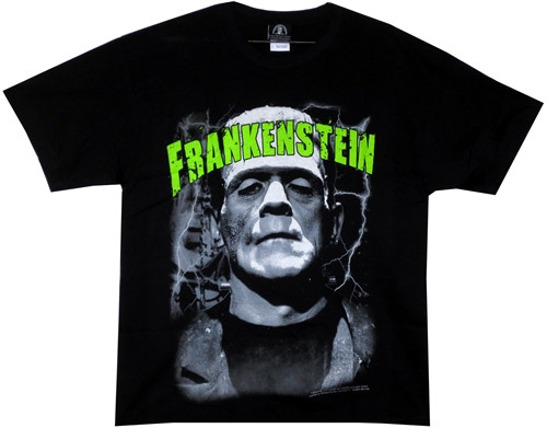 Image Closeup for Frankenstein T-Shirt