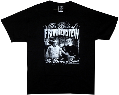 Image Closeup for Bride of Frankenstein T-Shirt