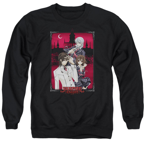 Image for Vampire Knight Crewneck - Castle Pose