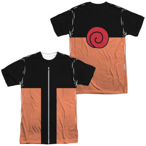 Image for Naruto Shippuden Sublimated T-Shirt - Costume 100% Polyester