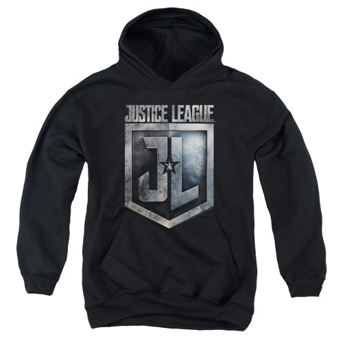 Image for Justice League Movie Youth Hoodie - Shield Logo