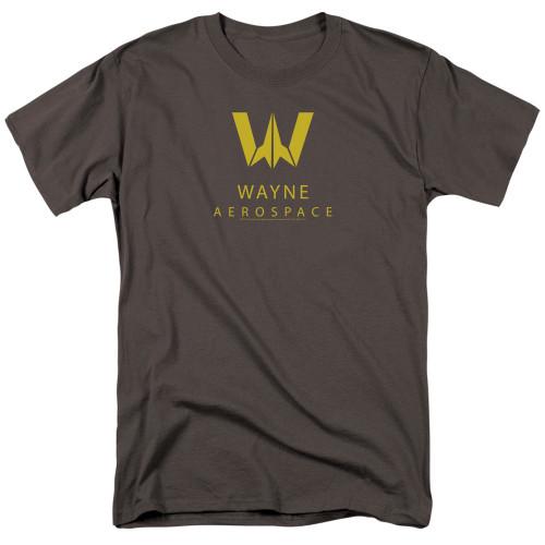 Image for Justice League Movie T-Shirt - Wayne Aerospace
