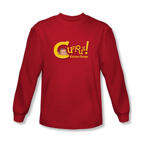 Image for Curious George Curious! Long Sleeve T-Shirt