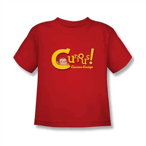 Image for Curious George Curious! Kids T-Shirt