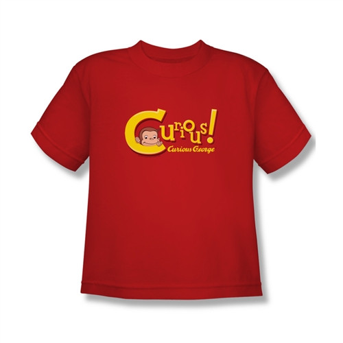 Image for Curious George Curious! Youth T-Shirt
