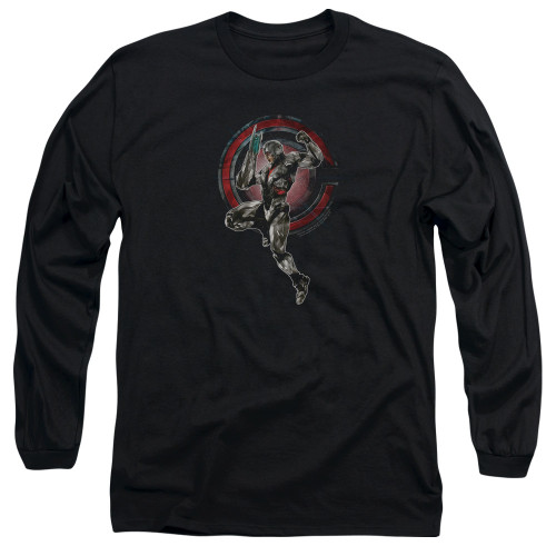 Image for Justice League Movie Long Sleeve Shirt - Cyborg