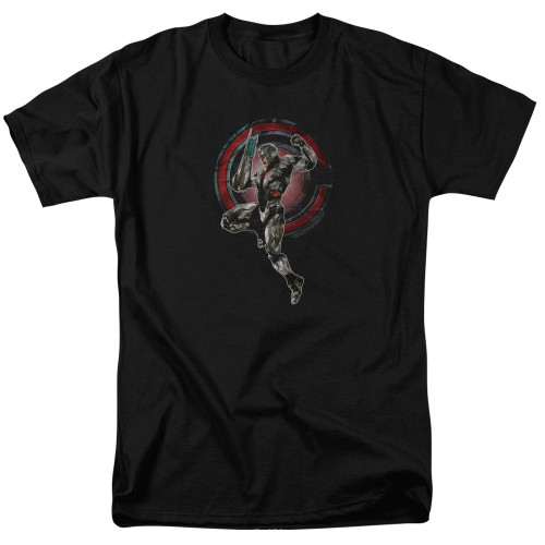 Image for Justice League Movie T-Shirt - Cyborg