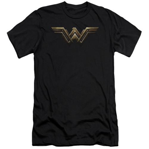 Image for Justice League Movie Premium Canvas Premium Shirt - Wonder Woman Logo