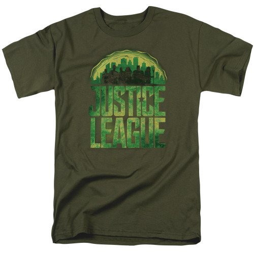 Image for Justice League Movie T-Shirt - Kryptonite